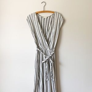 Caution To The Wind Cotton White Maxi Dress / S